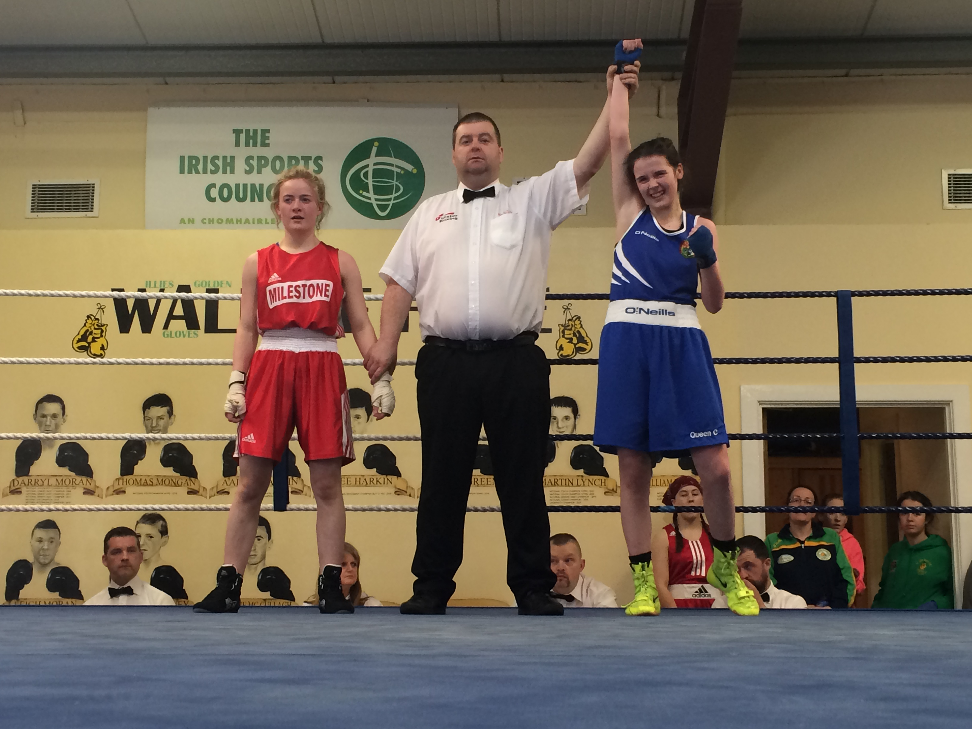 girls Amateur boxing