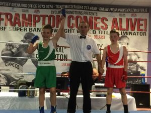 Andrew Ward St. Malachys booked his place in Saturdays final with a win over All Saints Paul Duffin